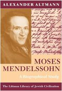 Cover for Moses Mendelssohn