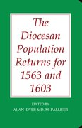 Cover for The Diocesan Population Returns for 1563 and 1603