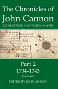 Cover for The Chronicles of John Cannon, Excise Officer and Writing Master, Part 2