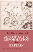 Cover for The Reception of Continental Reformation in Britain