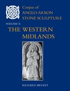 Cover for Corpus of Anglo-Saxon Stone Sculpture, Volume X