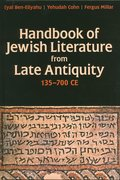 Cover for Handbook of Jewish Literature from Late Antiquity, 135-700 CE