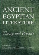 Ancient Egyptian Literature Theory and Practice