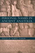 Cover for Personal Names in Ancient Anatolia