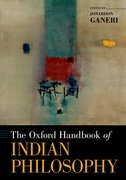 Cover for The Oxford Handbook of Indian Philosophy - 9780197503812