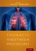 Cover for Thoracic Anesthesia Procedures
