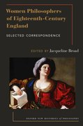 Cover for Women Philosophers of Eighteenth-Century England