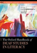 Cover for The Oxford Handbook of Deaf Studies in Literacy - 9780197508268