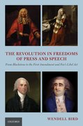 Cover for The Revolution in Freedoms of Press and Speech