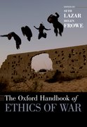 Cover for The Oxford Handbook of Ethics of War