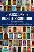 Cover for Discussions in Dispute Resolution