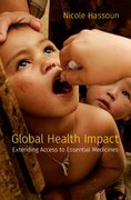 Cover for Global Health Impact - 9780197514993