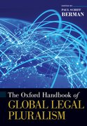 Cover for The Oxford Handbook of Global Legal Pluralism