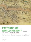 Cover for Patterns of World History, Volume One: To 1600, with Sources