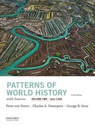 Cover for Patterns of World History, Volume Two: From 1400, with Sources