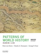 Cover for Patterns of World History, Volume One: To 1600