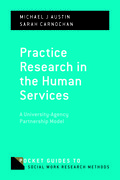 Cover for Practice Research in the Human Services