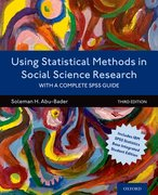 Cover for Using Statistical Methods in Social Science Research