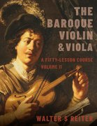Cover for The Baroque Violin & Viola, vol. II