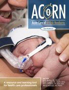 Cover for Acute Care of At-Risk Newborns