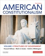 Cover for American Constitutionalism Volume I