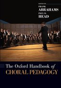 Cover for The Oxford Handbook of Choral Pedagogy