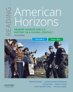 Cover for Reading American Horizons