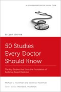 Cover for 50 Studies Every Doctor Should Know