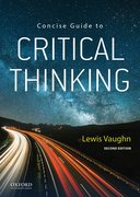 Cover for Concise Guide to Critical Thinking