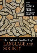 Cover for The Oxford Handbook of Language and Society
