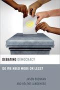Cover for Debating Democracy