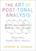 Cover for The Art of Post-Tonal Analysis