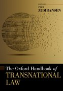 Cover for The Oxford Handbook of Transnational Law - 9780197547410