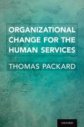Cover for Organizational Change for the Human Services