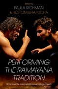 Cover for Performing the Ramayana Tradition