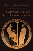 Cover for Hexametrical Genres from Homer to Theocritus