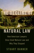 Cover for The Decline of Natural Law - 9780197556498