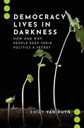 Cover for Democracy Lives in Darkness