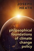 Cover for Philosophical Foundations of Climate Change Policy