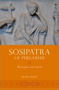 Cover for Sosipatra of Pergamum - 9780197571231