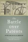 Cover for The Battle over Patents