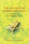 Cover for The Critique of Commodification