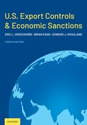 Cover for U.S. Export Controls and Economic Sanctions