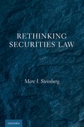 Cover for Rethinking Securities Law