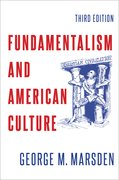 Cover for Fundamentalism and American Culture