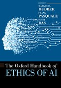 Cover for Oxford Handbook of Ethics of AI