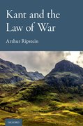 Cover for Kant and the Law of War