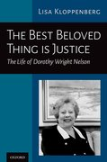 Cover for The Best Beloved Thing is Justice