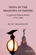 Cover for India in the Shadows of Empire