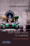 Cover for Ancient to Medieval South Indian Society in Transition